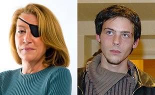 Montage de photos représentant la  journaliste américaine, Marie Colvin, et le photojournaliste français Rémi Ochlik, prise en février 2005, tués à Homs, en Syrie le 22 février 2011.