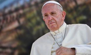 Le pape François a commencé son pontificat en 2013.