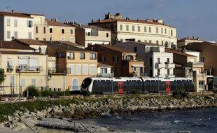 Le village d'Ile-Rousse en Haute-Corse.