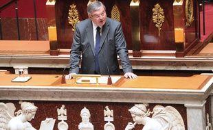 Michel Mercier, ministre de la Justice, lors du débat sur le mariage homosexuel à l'Assemblée nationale le 9 juin 2011.