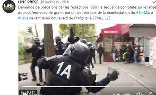 Image du policier par LinePress