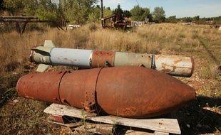 La munition, découverte au large des places niçoises, est un obus italien de 122 millimètres (illustration)