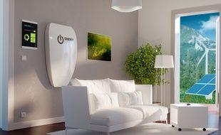 Dans une maison à énergie positive, la facture de chauffage dépasse rarement les 70 € par an.
