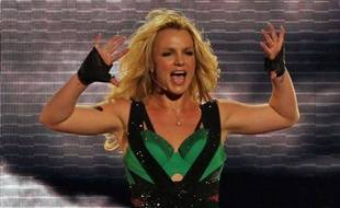 Britney Spears le 29 mars 2011 en concert, à Los Angeles en Californie