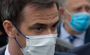 Le ministre de la Santé, Olivier Véran, à Manosque le 16 avril 2021.