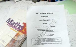 Le sujet de mathématiques du baccalaureat  S  2011.
