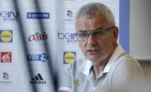 Philippe Bana veut faire la bascule de DTN à président de la Fédération de handball.