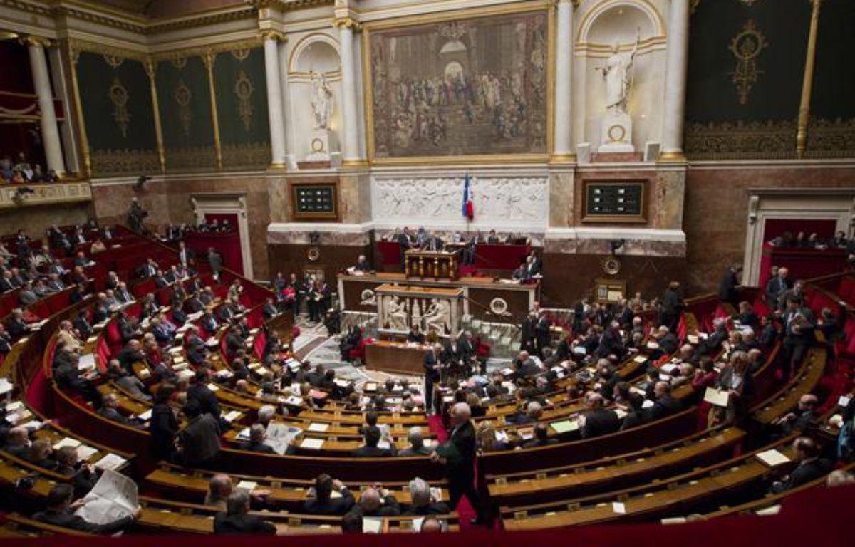 L'hémicycle de l'Assemblée Nationale lors des questions au gourvernement, le 10 avril 2013. – V. WARTNER / 20 MINUTES