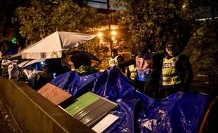 Les camps de migrants aux abords de la porte de la Chapelle ont été évacués ce jeudi