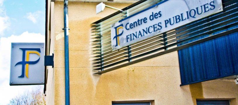 Centre des Finances Publiques à Conlie (Sarthe).