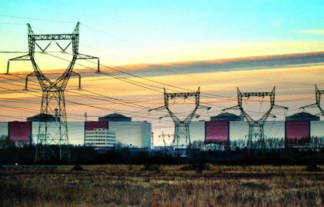 La centrale nucléaire de Gravelines, le 8 janvier 2013.