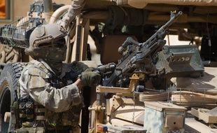 Un membre des forces spéciales françaises quelque part au Mali