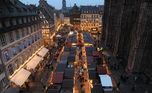 Marché de Noël Strasbourg. Le 11 12 2008