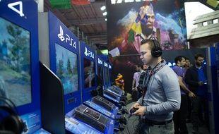 A la Paris Games Week, le 29 octobre 2014.
