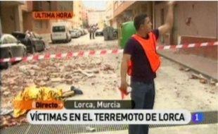 Lorca, dans le Sud, a été particulièrement touchée.