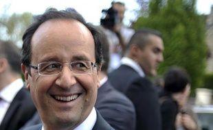 François Hollande, élu dimanche septième président de la Ve République, le premier socialiste depuis François Mitterrand, a bâti son succès à la force du poignet, balayant par son travail et sa détermination une image d'outsider, d'homme de parti n'ayant jamais siégé au gouvernement.