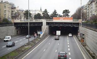 Le Tunnel duLandy, le 22 janvier 2013.