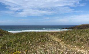 La plage de La Palue, à Crozon, est un célèbre spot de surf de Bretagne.