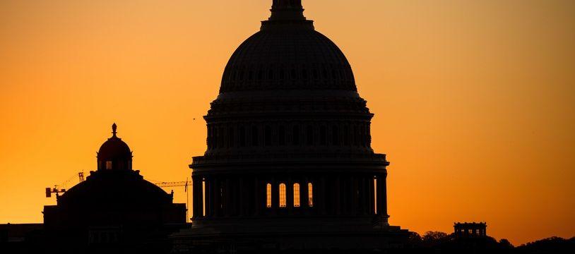 Le dôme du Capitole, où siège le Congrès américain à Washington.
