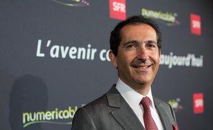 Patrick Drahi, président du groupe Altice