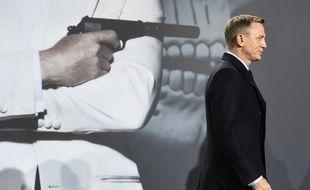 Daniel Craig lors de la promotion du film «Spectre», dernier de la saga James Bond.