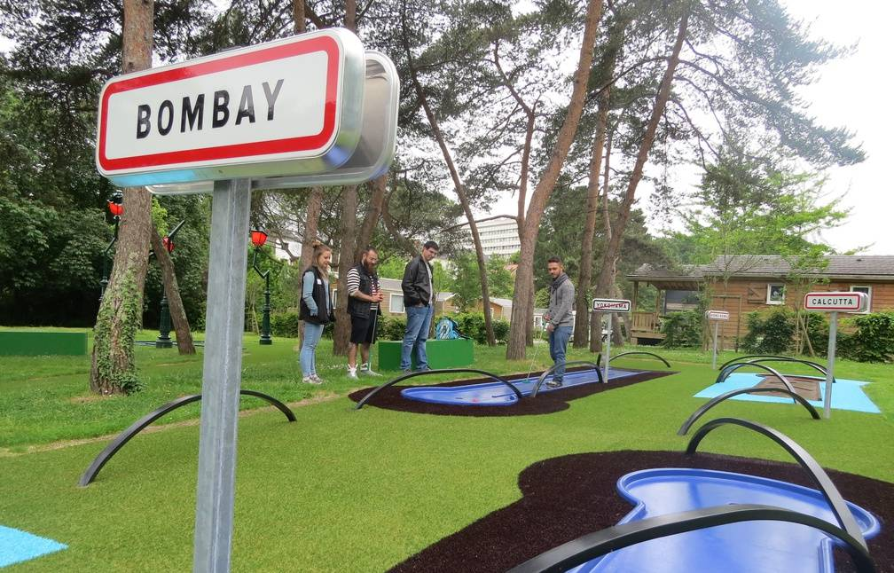 On a test le nouveau mini golf en mode voyage nantes au camping du petit port - Camping du petit port nantes ...