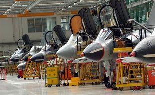 L'usine d'assemblage Dassault, un des industriels qui soutient le projet Tarmaq.