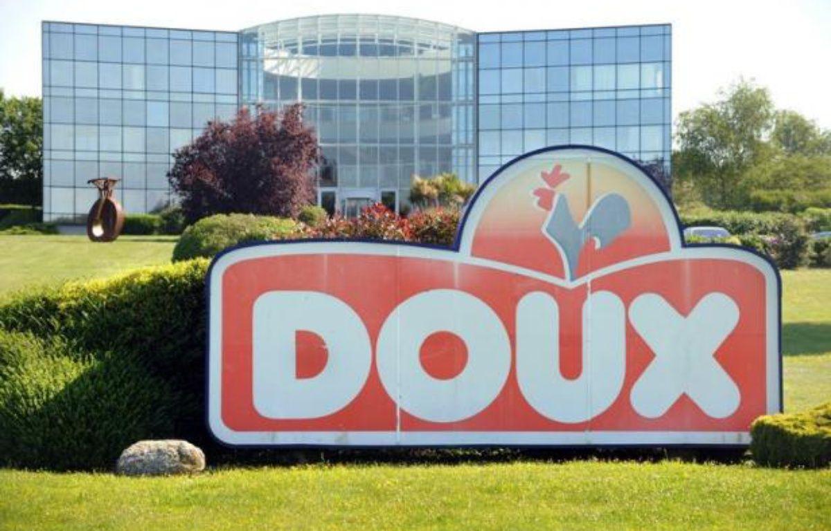 """LGroupe familial basé à Châteaulin (Finistère) et connu pour sa marque """"Père Dodu"""", Doux a été placé à sa demande vendredi en redressement judiciaire par le tribunal de commerce de Quimper. – Fred Tanneau afp.com"""