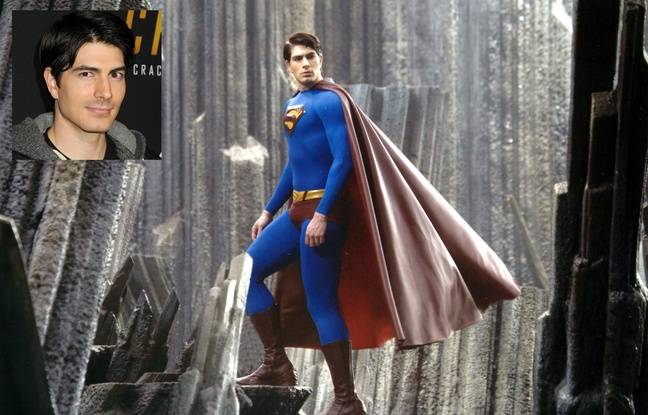 Brandon Routh dans Superman returns.