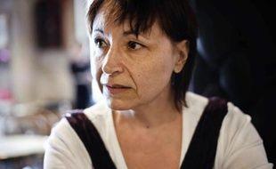 """Christine Tasin, présidente de """"Résistance républicaine"""", le 16 septembre 2010 à Dijon"""