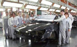 Jeudi 1er juin, le dernier exemplaire de la Citroën C5 est sorti de l'usine de la Janais, à Rennes.