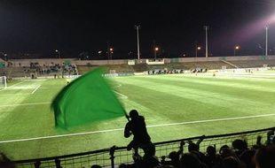 Le stade Bauer à Saint-Ouen.