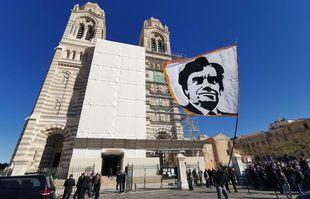 A la cathédrale Major de Marseille, le 8 octobre 2021.