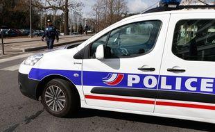 Illustration d'une voiture de police. Credit:ELSNER FABRICE/SIPA/1503021649