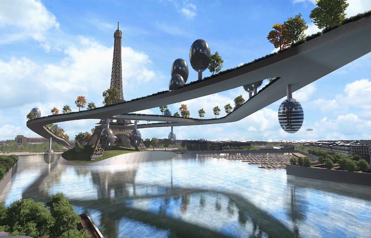 video paris jardins suspendus ponts dans tous les sens est ce le futur de la capitale. Black Bedroom Furniture Sets. Home Design Ideas