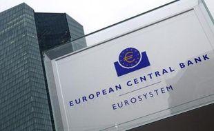 Le siège de la Banque centrale européenne (BCE) à Francfort, en janvier 2015