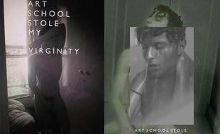 Captures d'écran de visuels réalisés par l'artiste, pour son projet «Art School stole my virginity»