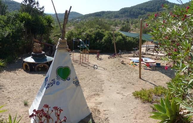 L'espace des enfants à Casita Verde