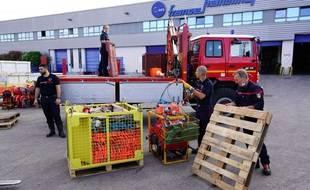 Quarante pompiers du sud de la France sont partis en Grèce aider leurs collègues