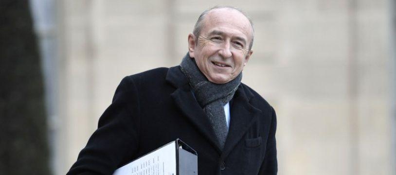 Gérard Collomb le 12 janvier 2018 à Paris.