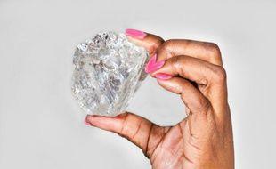 Le plus gros diamant jamais découvert depuis un siècle est de la taille d'une balle de tennis