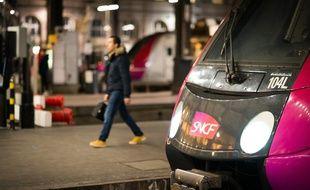 Image d'illustration d'un train.