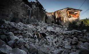 Le Teil (Ardèche) après le séisme du 11 novembre 2019.