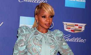 L'actrice et chanteuse Mary J. Blige