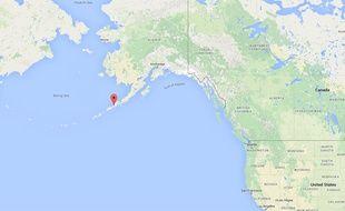 Localisation de Cold Bay, en Alaska