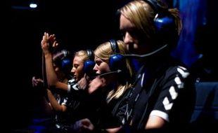 Une équipe féminine, au mondial du gaming