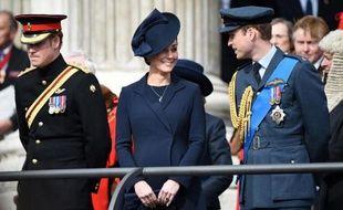 Kate et William le 13 mars 2015 à Londres