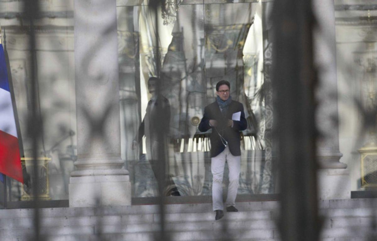 Aquilino Morelle le 29 mars 2014, à l'Elysée. – BISSON Bernard/Eric DESSO/SIPA