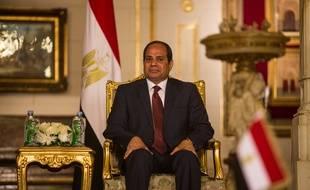 Le président égyptien Abdel Fattah al-Sissi, le 17 avril 2016.