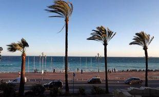 La Promenade des Anglais à Nice,.